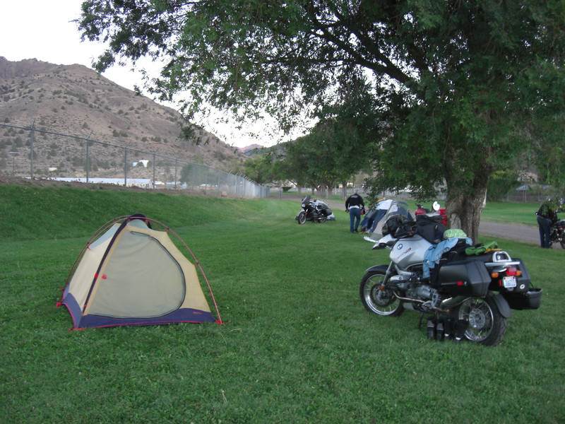 campsite for saturday night (cedarville, ca)