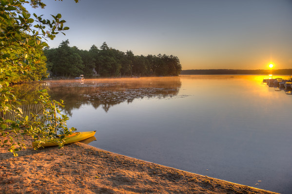 HDR Photograqphy at Lake Pemaquid, ME 8.2011