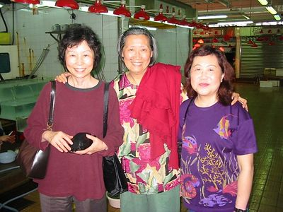 HK - Mom with former co-workers/teachers