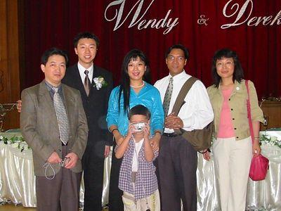 HK - Mandarin branch members - Hu Jia Ling, Victoria, Ian, Benji, & Daisy