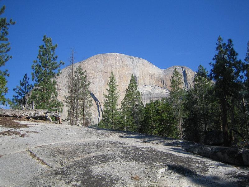 Half Dome's backside.