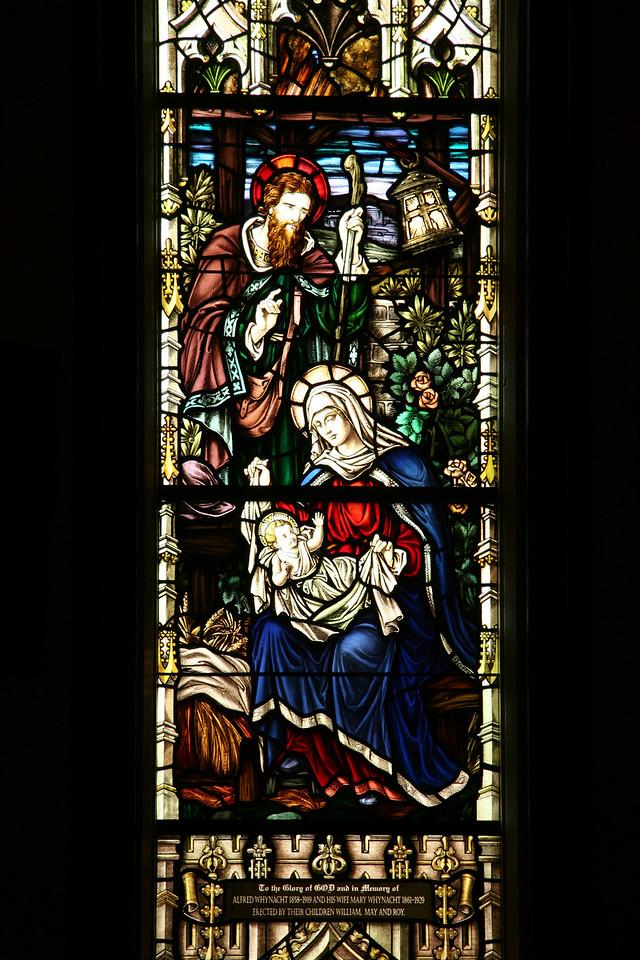 In Lunenburg, St. John's Anglican Church.