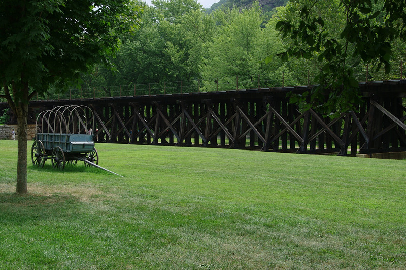 Old Winchester and Potomac Railroad trestle