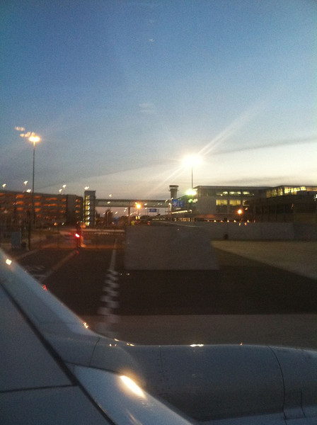 Taxiing SMF. That's it. Back to the real world.