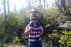 October 18, 2013 - (Hawai'i Volcano National Park [end of Moana Loa Road / Moana Loa Hiking Trailhead], Hawaii County, Hawaii) -- Ada & Katie