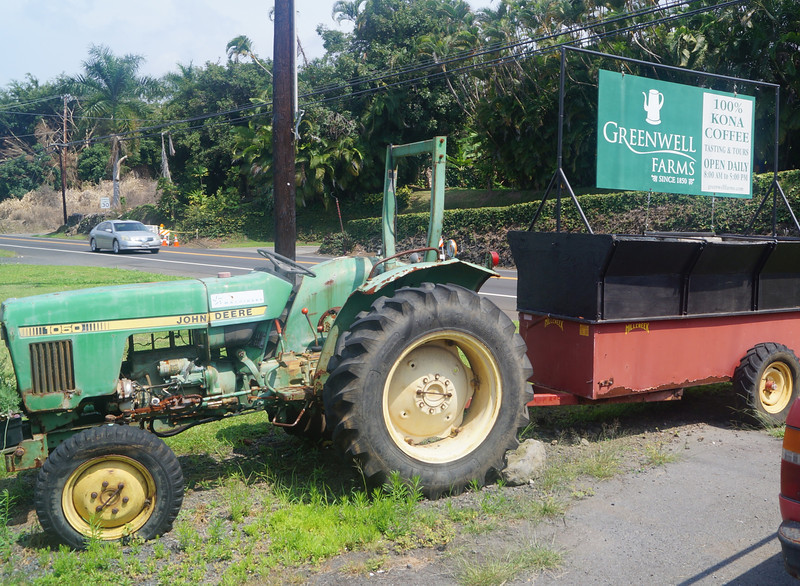 "October 17, 2013 - (Greenwell Kona Coffee Farms / Kealakekua, Hawaii County, Hawaii) --  ""Greenwell"" Kona Coffee Farms signage"