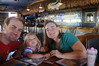 October 17, 2013 - (Splasher's Grill / Kona-Kailua, Hawaii County, Hawaii) -- Jonathon, Ada & Katie at the Splasher's Grill in Kona for breakfast