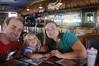 October 17, 2013 - (Splasher's Grill / Kona-Kailua, Hawaii County, Hawaii) -- Jonathon, Ada & Katie at the Splasher's Grill in Kona for breakfast