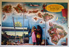 "October 16, 2013 - (Honolulu international Airport, Honolulu, Hawaii) -- Large ""Aloha Airlines"" map on wall of terminal [as we waited to depart for Kona]"