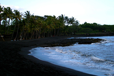 Big Island - Black Sand Beach