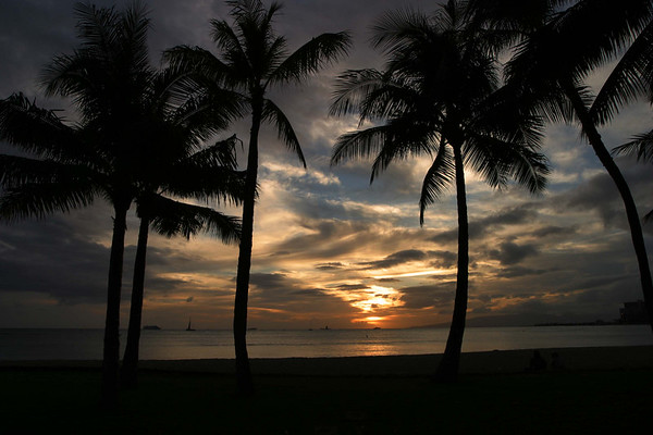 Oahu - Sunset (Waikiki)