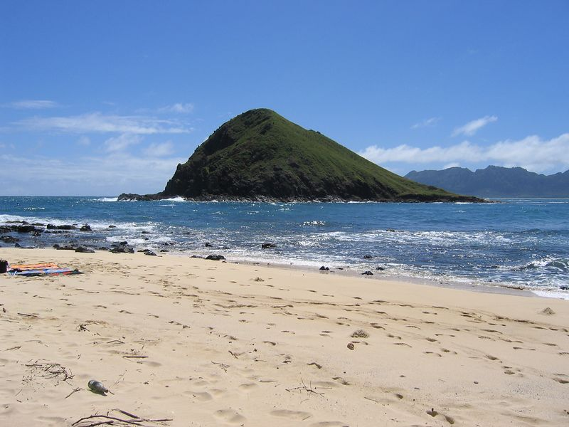 The other Mokulua island