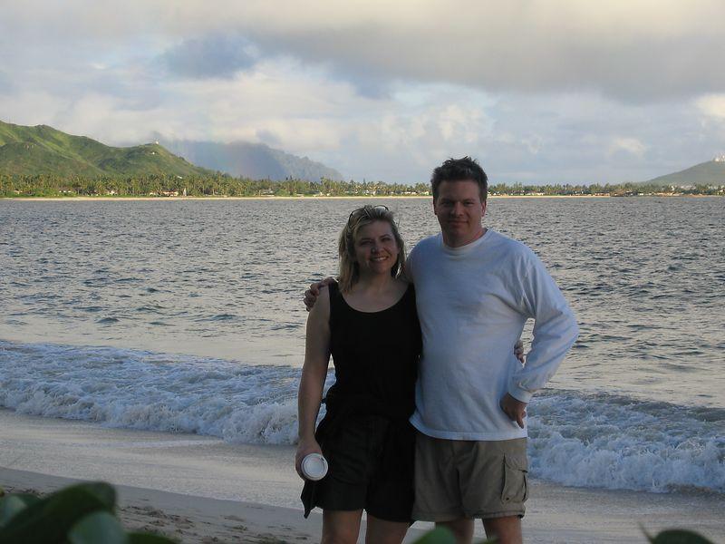 LaDues at Kailua Beach
