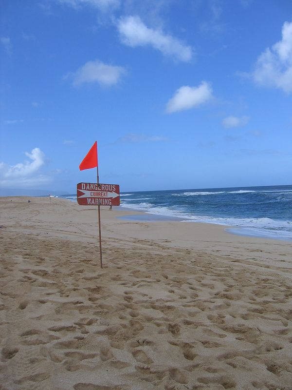 North Shore warning