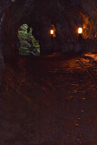 Day Five - Volcanoes National Park, Lava tube formed when lava cools and forces out of a formed tunnel.