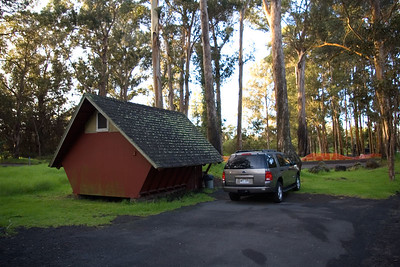 Day Four - Cabin in Volcanoes National Park where Mark and Ruth stayed.