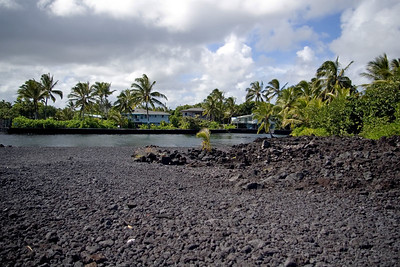 Day Five - Champagne Pond, a volcanically heated inlet good for swimming and snorkling.  Saw a sea turtle under water.