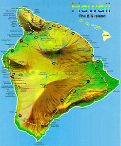 We spent most of our time on the Big Island.  Started in Kona (center west cost) and went around counter-clockwise.  First few pictures from Day One were from Oahu, before we went to the Big Island.