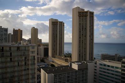 Day One - Waikiki, View from Hotel