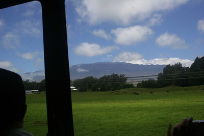 8-16-06 Kona - Eruption of Flavor Tour - View from the bus