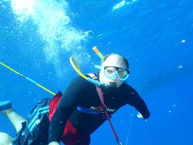 August 15, 2006  Maui - Pride of Maui - Molokini Snorkel. Glen Snuba diving.