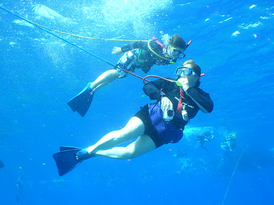 August 15, 2006  Maui - Pride of Maui - Molokini Snorkel. Nate and Mary Beth - One of my favorites...