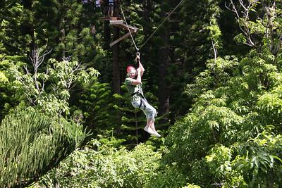 8-17-06 Kauai - Treetop Zipline Eco Adventure