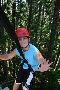 8-17-06 Kauai - Treetop Zipline Eco Adventure - Pretty proud