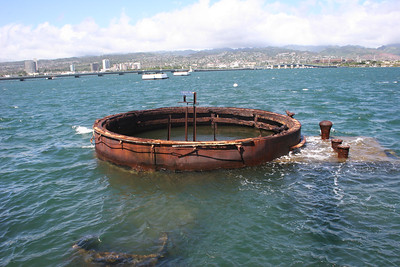 8-19-06 U.S.S. Arizona Memorial - Buried at sea