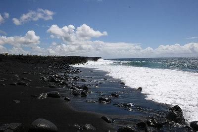 8-13-06 Secrets of Puna - Black Black Sand