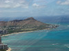 A better view of WiKi and Diamond Head.