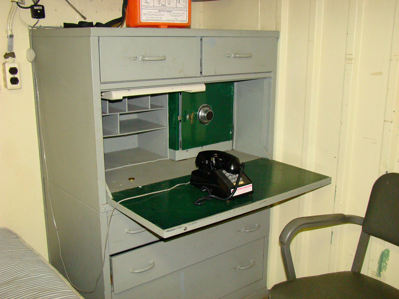 The safe that stored the nuclear release codes for the tomahawks.