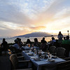 View from our table at the Feast at Lele. Hawaii Oct 2010. Maui (Kapalua, Lahaina) and Oahu (Pearl Harbor)