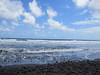 Pololu Beach waves.