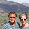 "At Waimea Canyon, ""The Grand Canyon of the Pacific."""