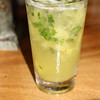 A pineapple mojito- very tasty.
