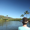 On another day we kayaked on the Wailua River.  It started out wide, and got progressively narrower.