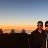 Sunset at Mauna Kea was awesome.