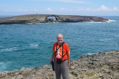 October 12, 2013 -- (Sea arch off La'ie Point, La'ie, Honolulu County, Hawaii) -- David