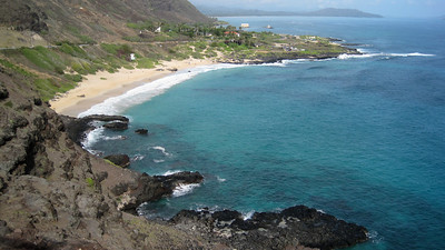October 12, 2013 -- (Makapu'u Beach Overlook, Honolulu County, Waimanalo, Hawaii) -- Makapu'u Beach