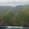 Hamakua Coast is filed with sea cliffs, lush valleys and tropical rain forests and ofcourse  lots of Waterfalls which can only be seen from sea or by air.