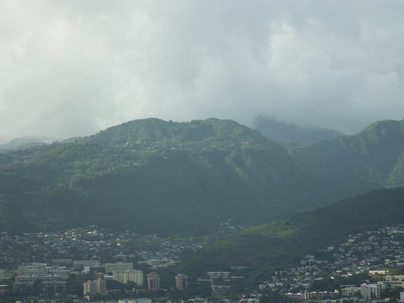 From the top of Diamond Head