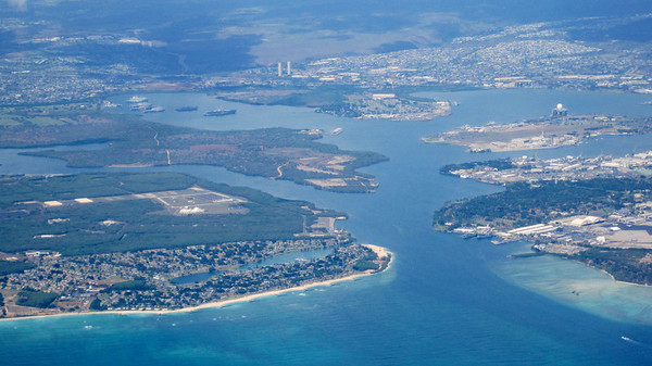 October 11, 2013 (Over Pearl Harbor, Hawaii, aboard United Airlines flight)
