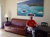 October 16, 2013 - (Bellows Air Force Station, Honolulu County, Waimanalo, Hawaii) -- David at Bellows AFS apartment