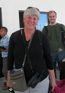 October 11, 2013 - (Honolulu International Airport, Honolulu, Honolulu County, Hawaii) -- MaryAnne & Jonathon arriving in Hawaii