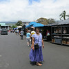 And then to the Farmer's market in Kona.