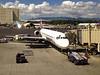 October 16, 2013 - (Honolulu International Airport, Honolulu, Honolulu County, Hawaii) -- Hawaiian Airlines aircraft at Honolulu airport
