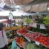 Farmer's market in Kona