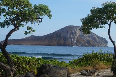 October 12, 2013 - (Rabbit Island, Honolulu County, Waimanalo, Hawaii) -- Rabbit Island from Makapu'u Beach