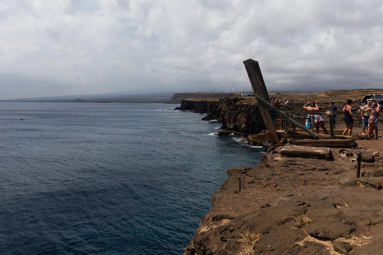 South Point cliff Dive